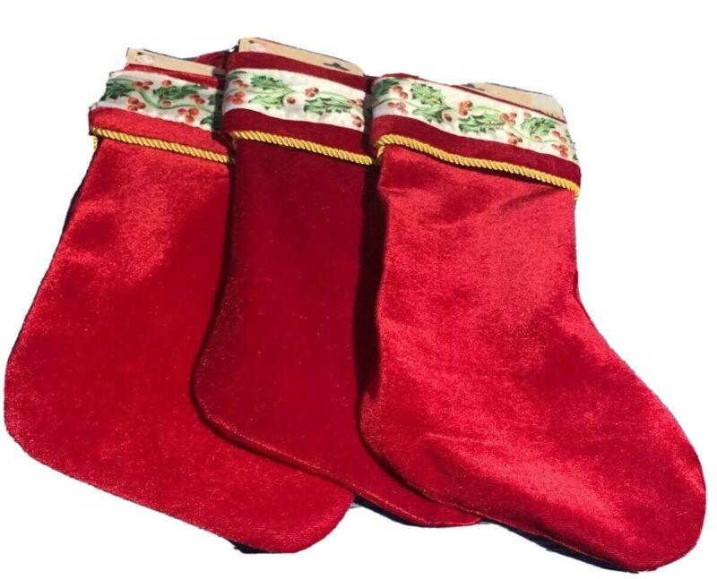 Christmas Stocking. Set Of 3