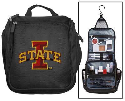 Isu Cyclones Toiletry Bag Cosmetic Bag  Iowa State Shaving Kit Travel Dopp Kit