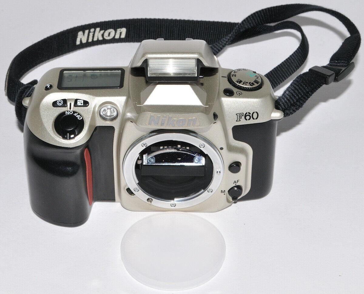 Nikon F60 Kleinbildfilm-Kamera, vom Händler mit Gewährleistung