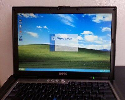 Dell Laptop D630 Duo Core Windows Xp Pro Rs232 Serial Com Port Microsoft Office
