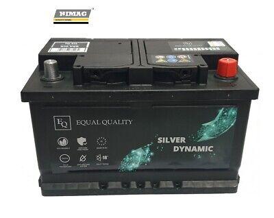 Batería Coche 12v 75Ah Amperio 680A Positivo Dx Lista Al Uso Garantía...