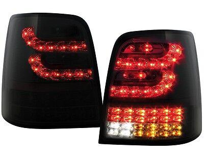 LED RÜCKLEUCHTEN VW TOURAN 1T 03-10 SCHWARZ VOLL-LED HECKLEUCHTEN ORIGINAL LITEC
