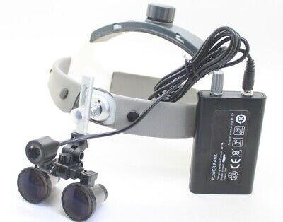 3.5x 420mm Dental Surgical Binocular Loupes Magnifier Led Headlight