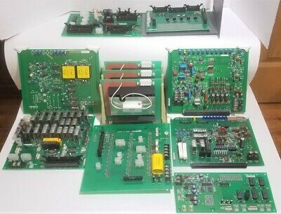 11 Rigaku X-ray Diffraction Cpu Control Boards Ru-h2r Rotating Anode Generator