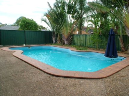 Free in ground fiberglass pool