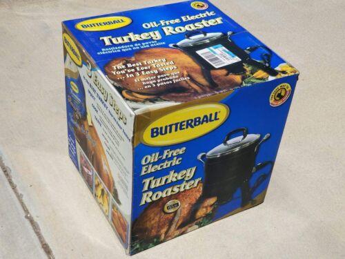 Butterball Oil-Free Electric Turkey Roaster Fryer Brand New