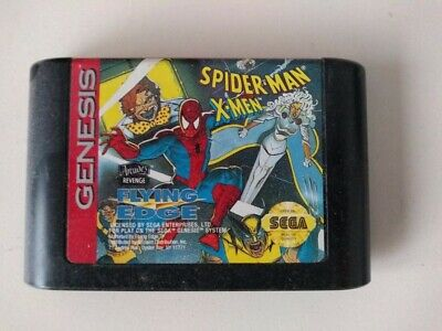 Spider-Man and the X-Men Flying Edge (Sega Genesis, 1993) for sale  Bloomfield Hills
