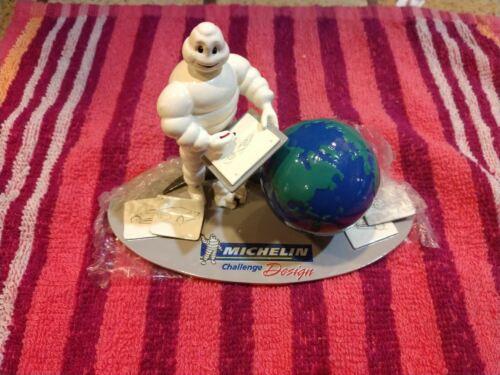 2008 Michelin Challenge Design Michelin Man Collectible Figurine 51/175 Globe