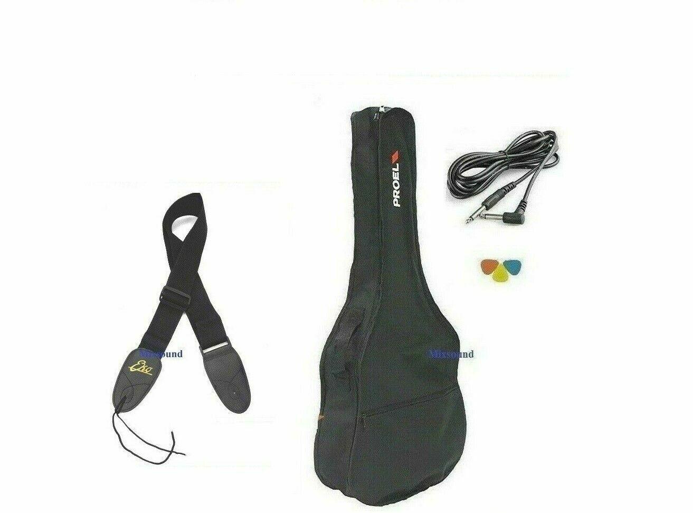 EKO NXT D100E XII SEE THROUGH BLACK Chitarra Acustica 12 corde Elettrificata BAG
