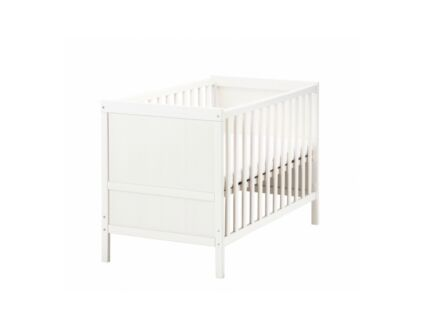 Sundvic cot with mattress(RRP $378)