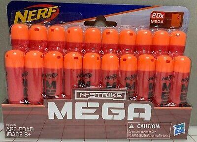 Toy Nerf Official Elite MEGA Whistler Darts 20Pack Refill Extra Ammo Gift NIP