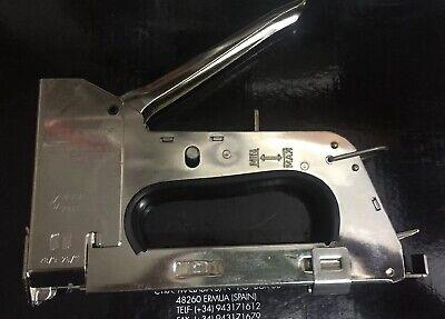 Grapadora Profesional Rapid R28 para cable telefonico y red CAT5 Y Fibra