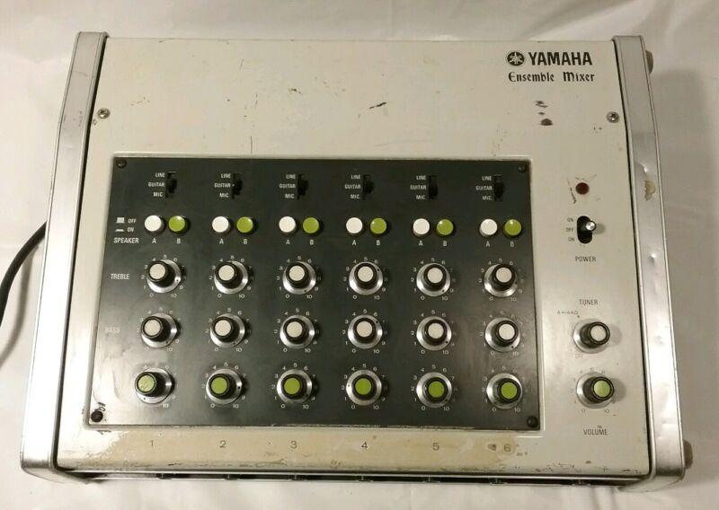 Vintage YAMAHA ENSEMBLE MIXER  Amplifier Rare 70s.