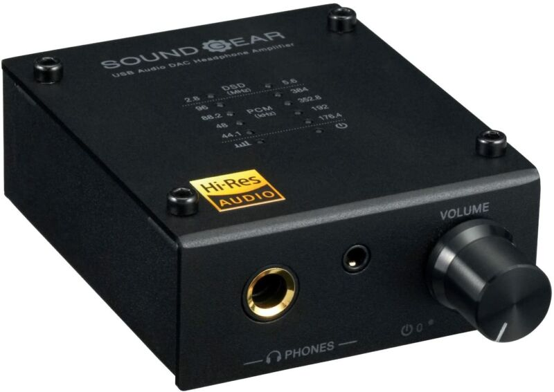 PRINCETON Black Headphone Amplifier 3.5mm Jack with Tracking Number NEW