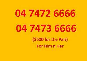 Gold / Platinum / Premium / VIP Mobile Number Not an iPhone Sydney City Inner Sydney Preview