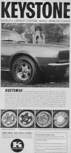 14 x 6  gm non disc keystone magnesium rims (like new)5-4.75 Kingston Kingston Area image 10