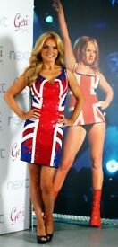 Limited edition union Jack sequinned dress - Geri Halliwell for Next, size 12 - original price £199