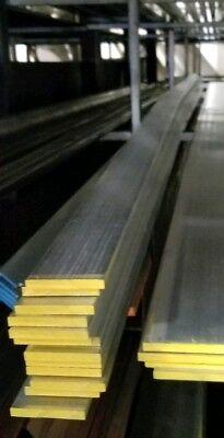 4 Pieces 14 X 2 Aluminum 6061 Flat Bar 12 Long T6511 .25 Mill Stock
