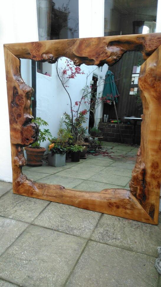 Unique rustic mirror - price reduction!