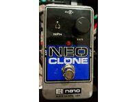*price drop* Electro Harmonix Neo Clone Chorus pedal