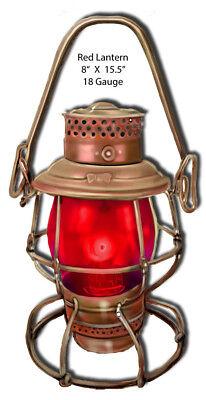 Light Red Lantern Laser Cut Out 8x15.5