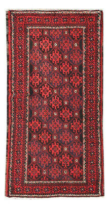 3x5 Oriental Classic Vintage Hand Knotted Wool Traditional Area Rug Classic Oriental Area Rug