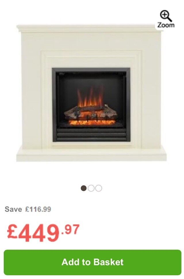 BRAND NEW! Electric fire with surround RRP £450