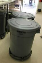Rubbermaid Round Brute Grey Container 121.1Ltr with Dolly- only 1 Preston Darebin Area Preview