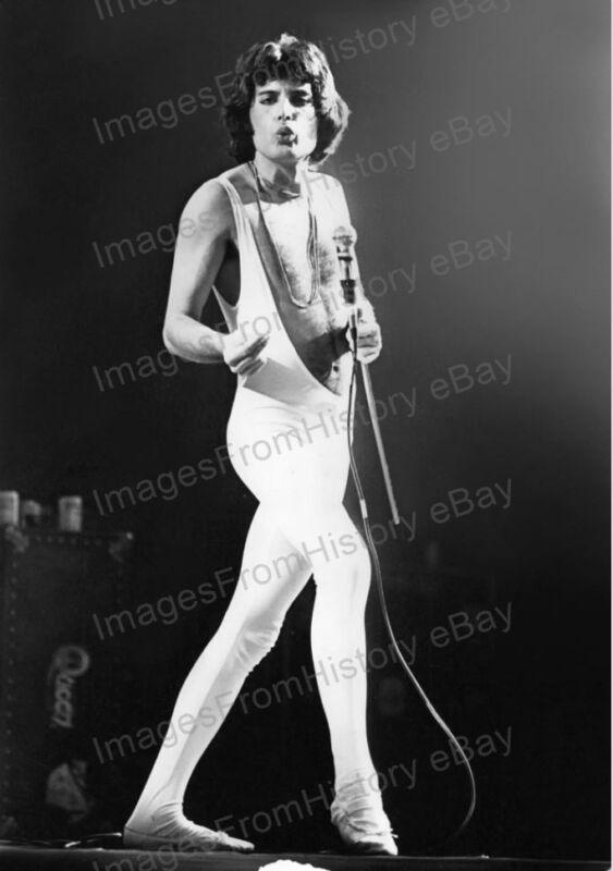 8x10 Print Freddie Mercury Queen Madison Square Gardens 1977 #FM1