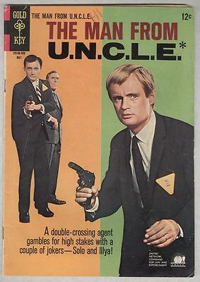 Man From Uncle  12 May 1967 Vg  Photo Cover