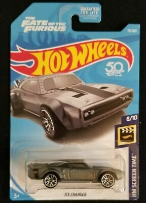 2018 Hot Wheels HW Screen Time 8/10 ICE CHARGER #79 Fast n Furious New Near Mint
