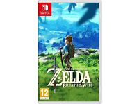 THE LEGEND OF ZELDA: BREATH OF THE WILD: NINTENDO SWITCH - BRAND NEW AND SEALED!!