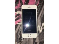 White iPhone 5s & light up phone case