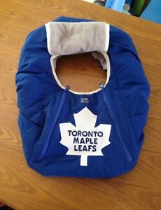 Toronto maple leafs infant car seat cover