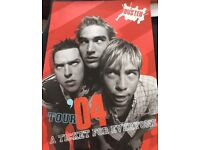 Busted Tour Programme 2004