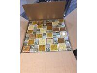 Gold Mix Mosaic Tile 30x30cm