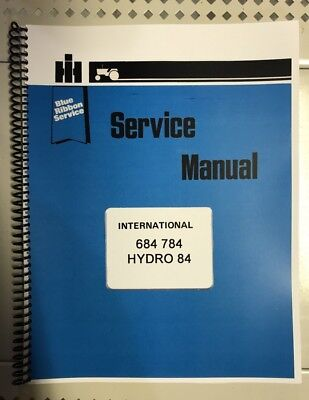 Hydro 84 International Harvester Tractor Technical Service Shop Repair Manual