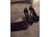 New Look Heels with bag size 5