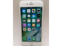 iPhone 6 16gb white and sliver on 02