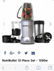 NutriBullet 1200 12 piece set Liverpool Liverpool Area Preview