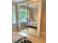 👌BRAND NEW MODERN 2 & 3 DOORS MIRRORED SLIDING WARDROBES, LED OPTION 👌👌