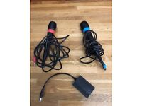 PlayStation Singstar Microphones