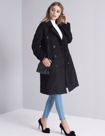 Chi Chi London Clemmie Coat (Black)