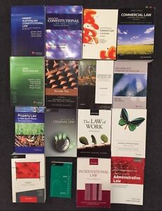 Law text books $40 each or any 2 for $60 Wolli Creek Rockdale Area Preview