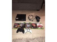 X box 360 with games