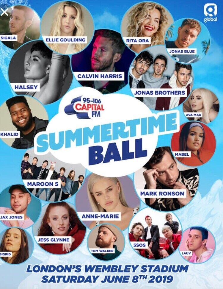 55cc2531 Summertime Ball 2019 - 2x Pitch Standing Tickets | in Motherwell ...