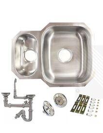 New undermounted kitchen sink