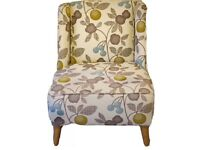 REDUCED! Occassional Accent ArmChair, excellent cond, RRP £429, LOCAL DELIVERY AVAILABLE