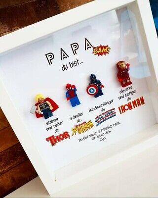 Personalisierte Geschenke Männer Vatertag Papa Supergelden Avengers