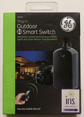 GE Z-Wave Wireless Plug-In Outdoor Smart Lighting Control Switch 12720